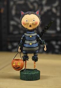 Cat and Jack Halloween Lori Mitchell Figurine NEW