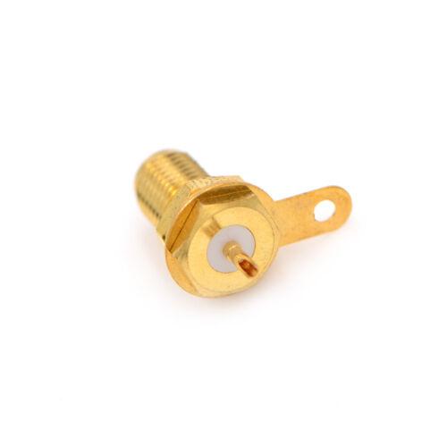 SMA-KY Female nut bulkhead vertical surface seal RF connector θo