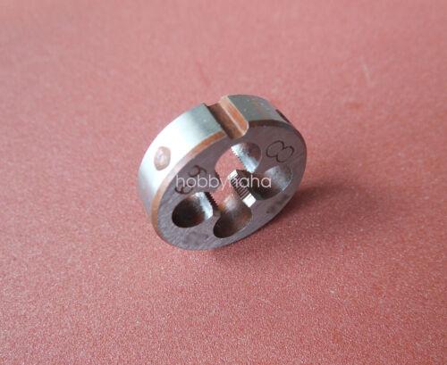 1pcs Metric Right Hand Die M5x0.5 mm Dies Threading Tools 5mm x 0.5mm pitch
