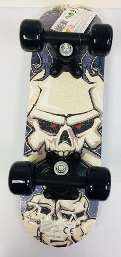 White Skull Skeleton Evo Junior Mini Skateboard