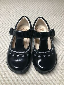 New Clarks Baby Girl T-Bars Flat Shoes