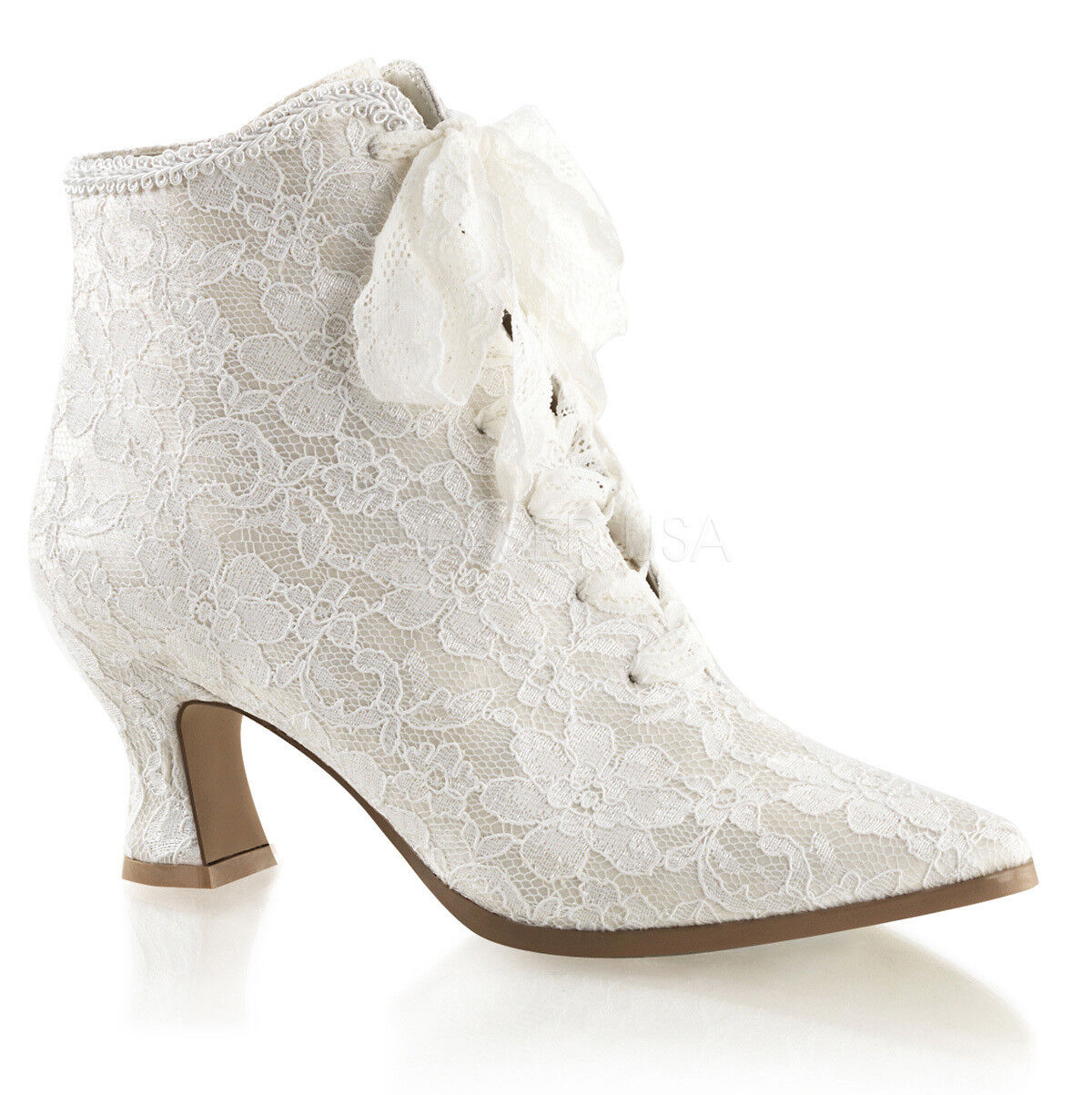 rojouce venta Victorian - 30 botines botín botín botín botaie marfil punta satén 40  punto de venta en línea
