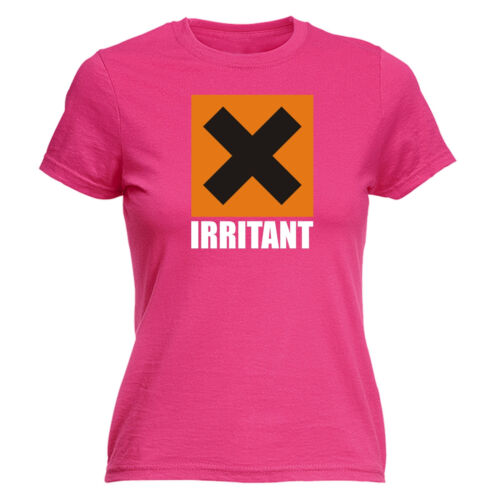 IRRITANT X WOMENS T-SHIRT tee warning acid chemistry joke funny mothers day gift