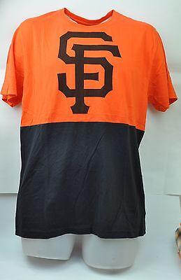 Weitere Ballsportarten Sport UnermüDlich Mlb San Francisco Giants Wright & Ditson Herren Medium Schwarz Orange T-shirt Hell Und Durchscheinend Im Aussehen