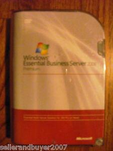 Details about Microsoft Windows Essential Business Server 2008 Premium,SKU  6ZA-00099,Full,BNIB