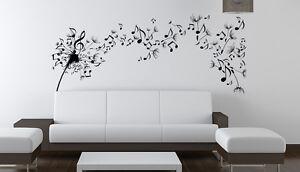Vinilo decorativo #171# BRISA MUSICAL XXL 200x90 cm sticker paredes pegatinas