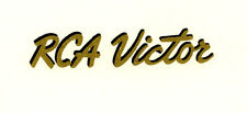 RCA Victor CATALIN Radio Decal, Also for Bakelite and Wood Sets