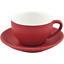 BEVANDE-RED-200ml-COFFEE-TEA-CUP-AND-SAUCER-SET-6-SETS-BRAND-NEW-COMMERCIAL