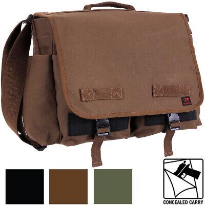 Tactical Concealed Carry Messenger Bag Ccw Edc Discreet Gun Pistol Ebay