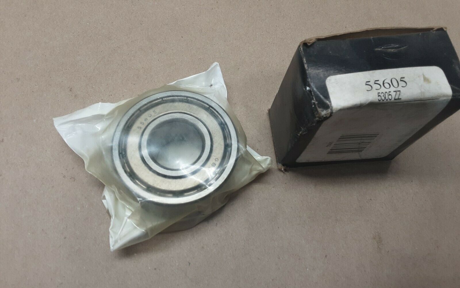 NEW General Bearing 5305-ZZ 55605 Sealed Double Row Ball BEARING