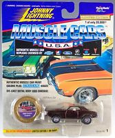 Johnny Lightning Muscle Cars Usa 1969 Pontiac Firebird Brown Series 1 1996