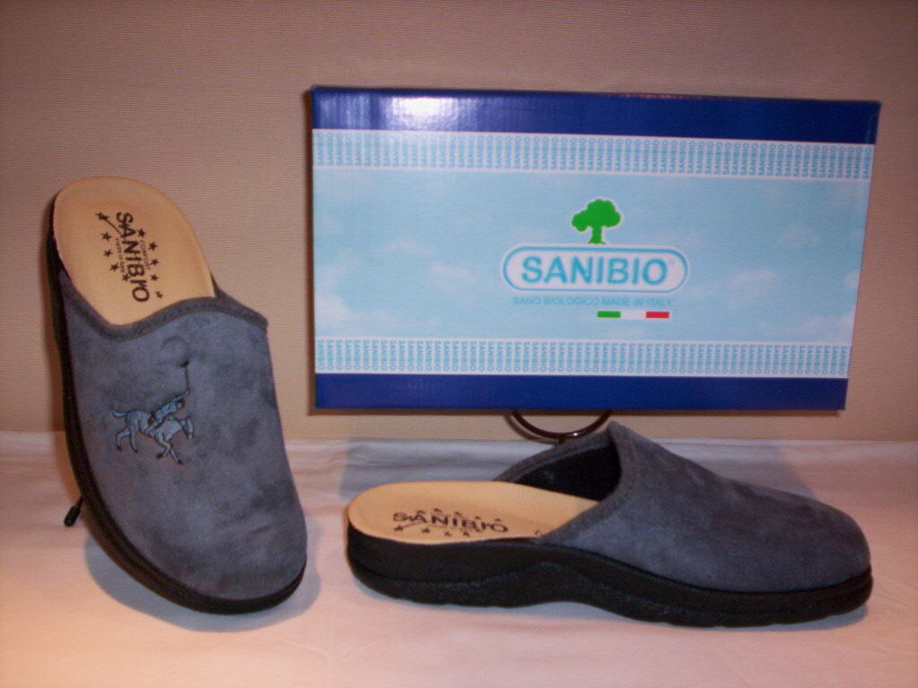 Sanibio slippers closed comfortable man winter home grey slippers