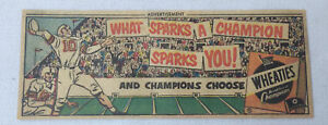 small-1951-Wheaties-ad-FOOTBALL-What-Sparks-A-Champion