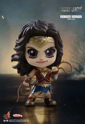 Hot Toys JUSTICE LEAGUE Wonder Woman Cosbaby NUOVO