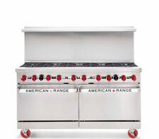American Range Ar 10 60 Inch Heavy Duty 10 Burners Stove Nat Gas Standard Oven