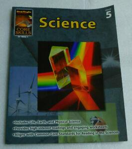 Science Grade 5 Core Skills Steck-Vaughn Denise Sechelski Life Earth Physical