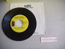 THE STAPLE SINGERS if you're ready/love comes in all colors STAX CANADA    45