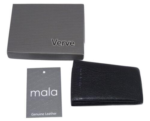 NEW key case leather Black bell keyring by Mala BNWT 581 26 verve
