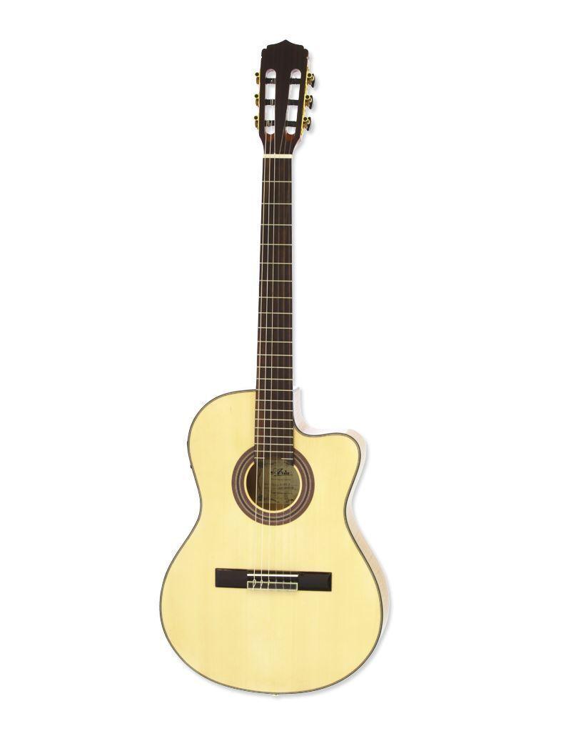 ARIA A-48CE N thin body cutaway classical guitar
