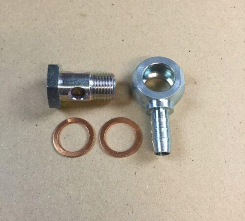 Cava BULLONE m16x1,5//Anello capezzoli con schlüsselfäche PER PA-Tubo interno 8mm