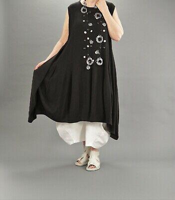 AKH Fashion Ballon-Kleid Gr. 44,46,48,50,52 schwarz + weiß ...
