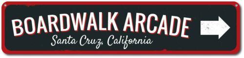 Boardwalk Arcade Sign Personalized Arrow Boardwalk Location Sign ENSA1001841