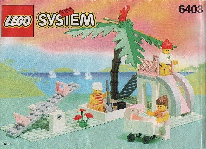 Lego Town PARADISA 6403 Paradisa playground New SEALD - Ships värld Wide