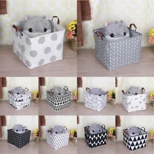 Image Is Loading Large Capacity Kids Baby Room Toys Storage Canvas