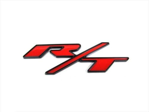 15-18 DODGE CHARGER R//T RT RED /& BLACK NAMEPLATE EMBLEM BADGE OEM NEW MOPAR
