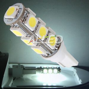 12V-T10-LED-Wedge-Bulb-13SMD-Cool-White-Car-Number-Plate-Reverse-Indicator-Lamp