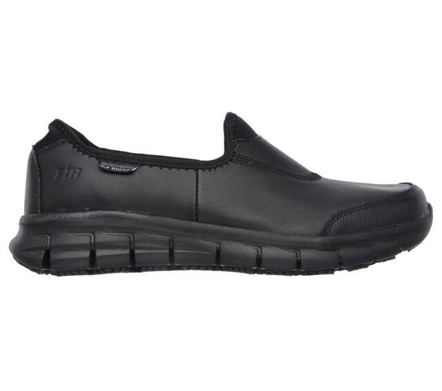 Skechers Sure track zapatos de seguridad mujer negro (BBK) 37 EU