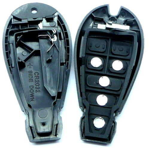 Auto radio vacío clave carcasa adecuado para chrysler dodge