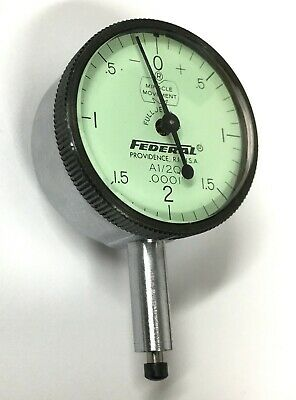 "Mahr Dial Indicator 0-2-0 Dial Face Series A1//2Q  0.0001/"" Graduation 2011089"