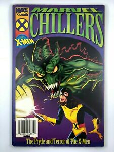 MARVEL-CHILLERS-THE-PRYDE-amp-TERROR-OF-THE-XMEN-1996-Graphic-Novel-Comic-RARE