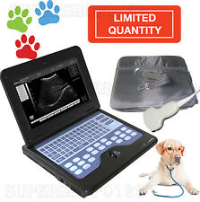 Vet Veterinary Laptop Ultrasound Scanner Machine 35mhz Convex Abdominal Probe