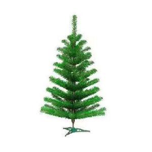 3ft Artificial Pine Fern Green Xmas Tree Ebay