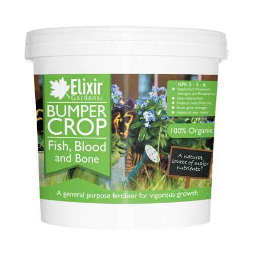 Bumper Crop Blood Fish and Bone Meal Multi-Purpose Organic Fertiliser1kg-25kg
