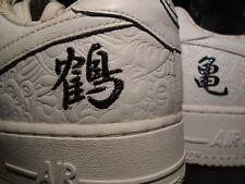 06 Nike Air Force 1 Low Premium MINMI JAPAN CO.JP WHITE BLACK 315205-111 12 10.5