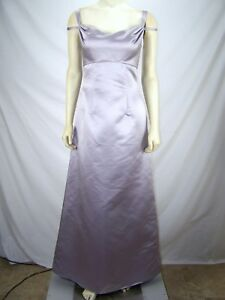 30f445fb968 Image is loading Bill-Levkoff-Classics-Purple-Silver-Metallic-Sleeveless- Dress-