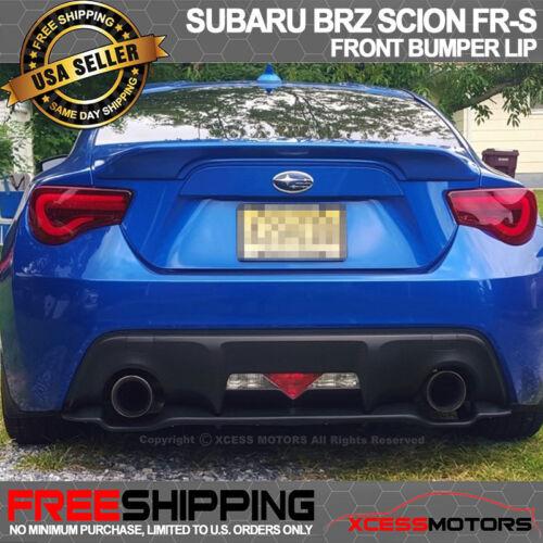 For 13-20 BRZ FR-S GT86 OE Rear Bumper Diffuser Lip Spoiler PU