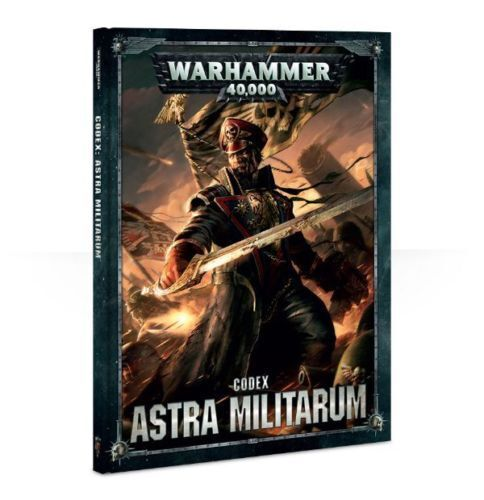 Warhammer 40k Codex Astra Militarum 8th Edition! New