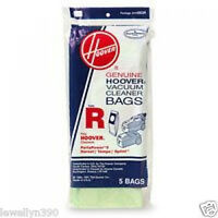 Genuine Hoover Spring & Tempo Vacuum Bag Style R 4010063r 5 Pack
