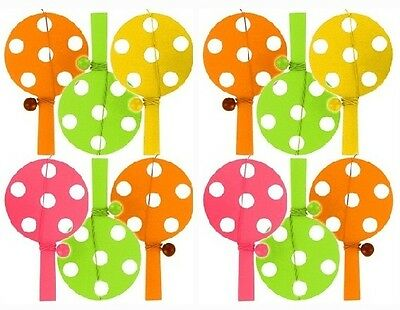 Colourful Paddle Bat And & Ball -  Birthday Party Loot Bag Pinata Toys Fillers