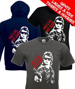 Ellos-viven-Roddy-Piper-retro-pelicula-de-John-Carpenter-camiseta-Sudadera-Con-Capucha