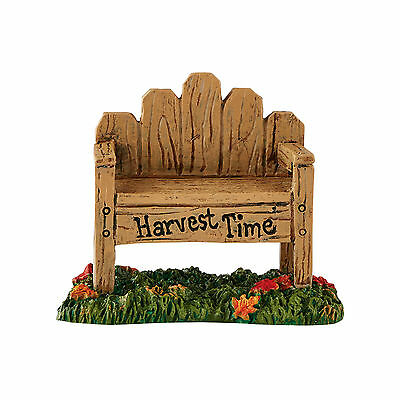 Dept 56 Village Harvest Fields Bench Accessory 4054214 NEW  D56 2016