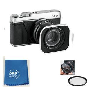 Pare-Soleil Pour Appareil Photol Compatible Avec Fujinon Lens Xf50Mmf2 R Wr
