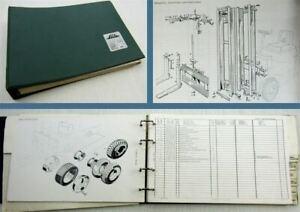 Ersazteilkatalog-Linde-E10-E12-E15-Stapler-mit-Elekromotor-Ersatzteilliste-1977