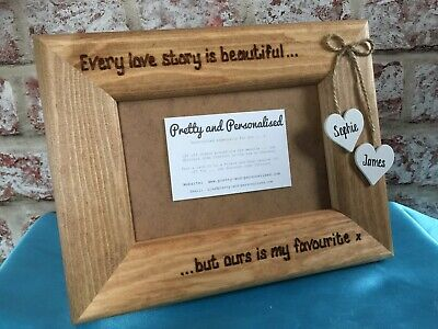 Vinyl Sticker 20 x 20cm DIY Box Frame Gift EVERY LOVE STORY IS BEAUTIFUL