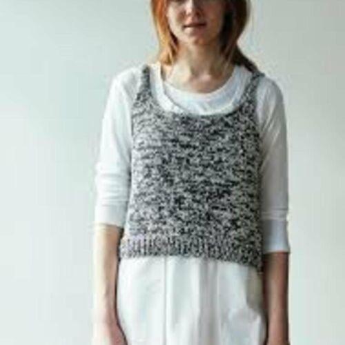 Erika Knight Ladies Gossypium Breezy Knitting Pattern