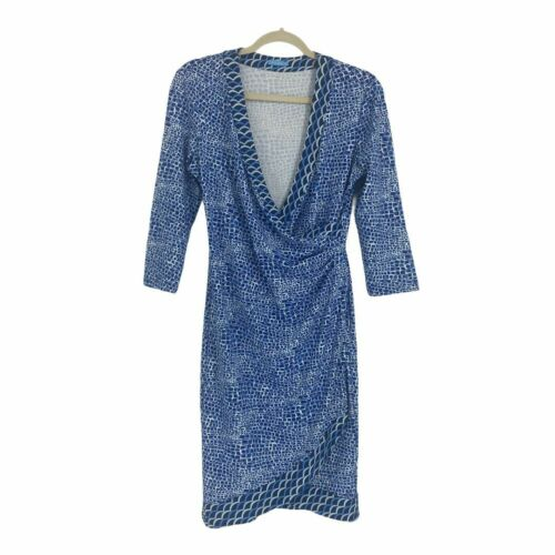 J.McLaughlin Women's Panama Faux Wrap Dress Catali